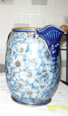 One of the Doulton Burslem Jugs