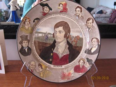 Royal Doulton Rabbie Burns Plate
