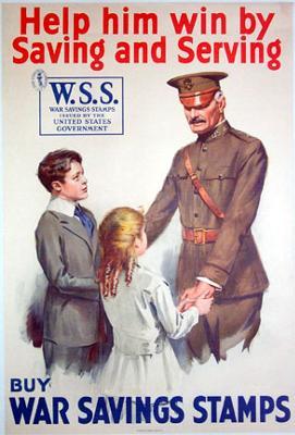 War Savings Stamps Poster