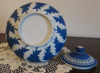 Wedgwood Jasperware Pot base and marks