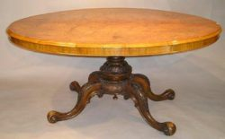 American furniture Victorian table