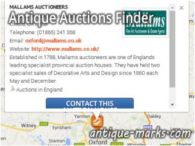 Antique Auctions Finder - Listing details