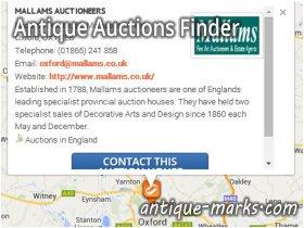 Antique Auctions Finder - Listing details