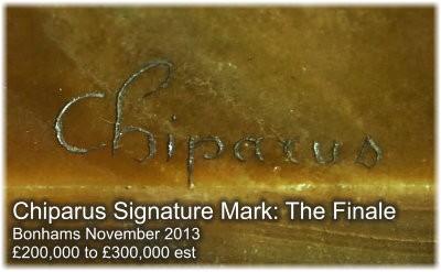 Demetre Chiparus Semnătura Marcă