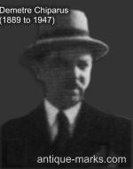 Demetre Haralamb Chiparus 1889 to 1947