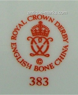 English Porcelain Marks