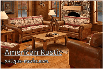 Antique Furniture Styles American Rustic Or Country