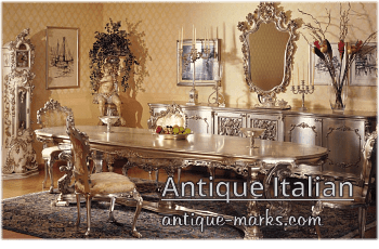 Antique Furniture styles - Italian Style