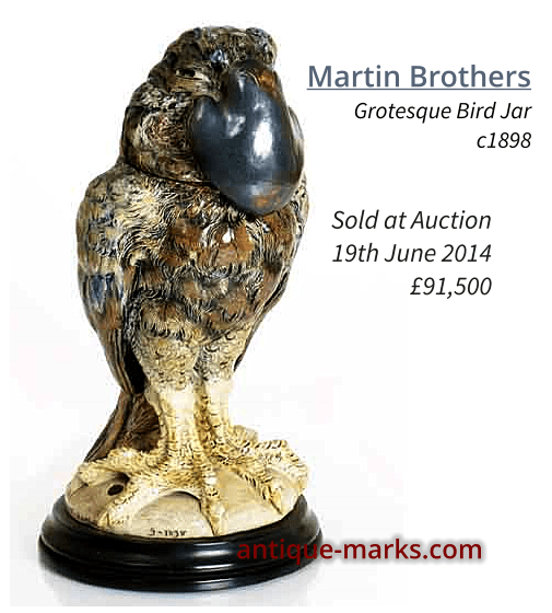 Martin Brothers Gothic Bird