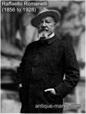 Rafaello Romanelli - artist & teacher of Demetre Chiparus