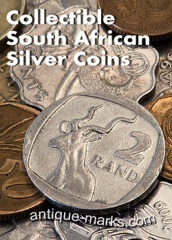 Collectible South African Silver Coins - 2 Rand