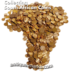 South African Coins - Map of Coins