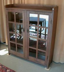 American furniture Arts and Crafts cabinet