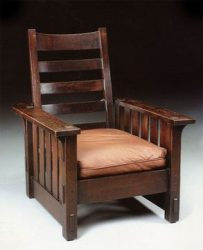 A Stickley Chair manufactured by Craftsman Workshops around 1904 & The Arts and Crafts Furniture of Gustav Stickley « islam-shia.org