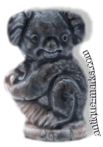 Wade Whimsie - Grey Koala Bear figure circa 1976 from the Safari Park set