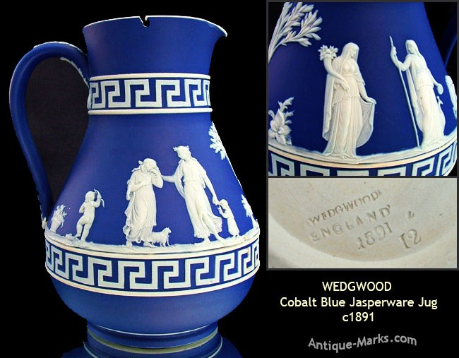 A beginners guide to dating Wedgwood Jasper Ware.