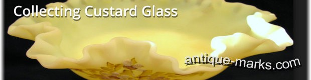 Collecting Custard Glass. Popular Collectible Glassware
