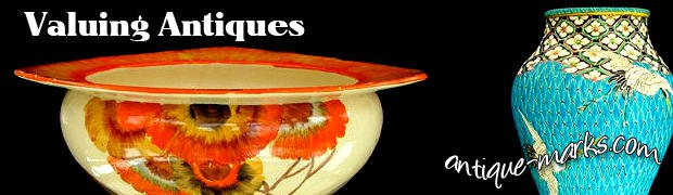 Valuing antiques & determining antique values