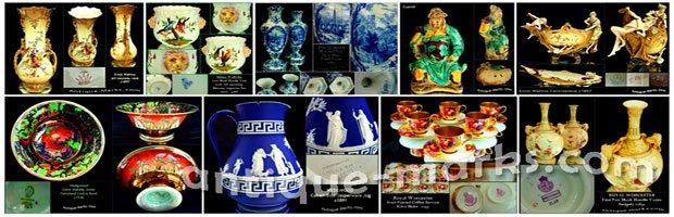 Pottery & Porcelain Antique Collectables