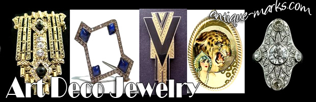 Genuine of Fake Art Deco Jewelry