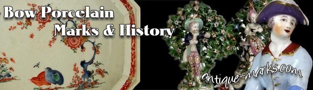 Bow Porcelain Marks & History - Thomas Frye