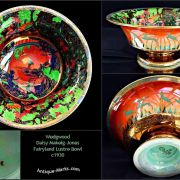 Antique Wedgwood Daisy Makeig-Jones Fairyland Lustre Bowl