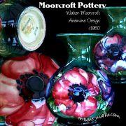 Moorcroft Pottery - Anemone Design Vase c1950