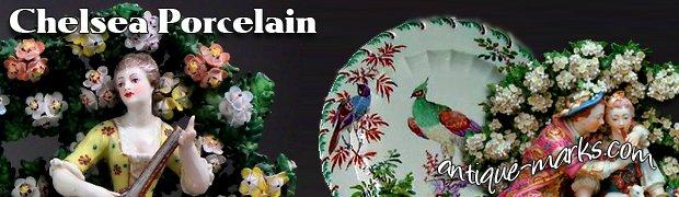 Chelsea Porcelain History & Marks