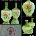 Good Pair of Derby Eggshell Porcelain Vases