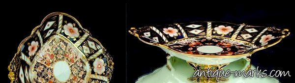 Antique Royal Crown Derby Imari Pattern 2451 dish