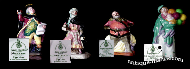 Miniature figures by Royal Doulton Artists & Designers
