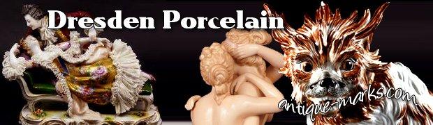 Dresden Porcelain Marks & History