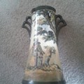 Royal Doulton Vase - Old English Scenes, The Gleaners