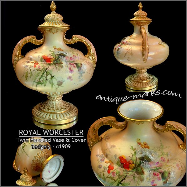 Royal Worcester Marks Amp Dating Worcester Porcelain