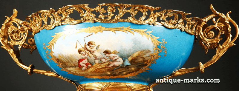 Sevres Porcelain Bowl for porcelain collectors